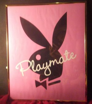 Vintage Playboy bunny picture with frame for Sale in Dimock, SD