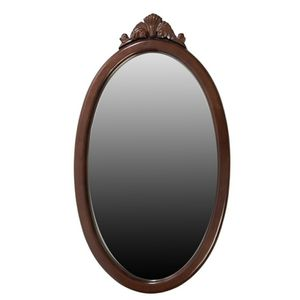 Bombay Oval Beveled Cherry Hallway Entrance Mirror for Sale in Portsmouth, VA
