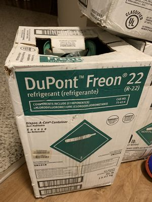 R-22 Freon new in box and sealed (4) for Sale in St. Charles, IL