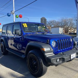 2018 Jeep Wrangler Unlimited for Sale in Bridgeview, IL