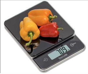 Taylor Glass Top Kitchen Scale - Black for Sale in GRYMR-DEVNDLE, KY