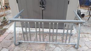 Bike rack galvanized steel good shape. for Sale in Tampa, FL