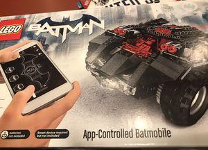 LEGO Superheroes App-Controlled Batmobile Building Kit, Multicolor for Sale in Alexandria, VA
