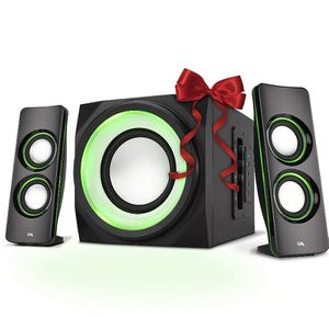 Cyber Acoustic Bluetooth Light Up Speakers for Sale in Mason City, IA