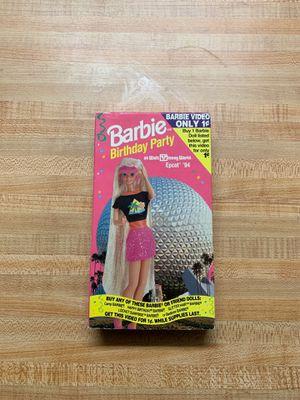 94' BARBIE BIRTHDAY PRTY VHS for Sale in Lodi, NJ