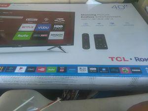 Brand New 40 inch TCL SMART/ROKU TV!! STILL IN BOX! for Sale in Nashville, TN