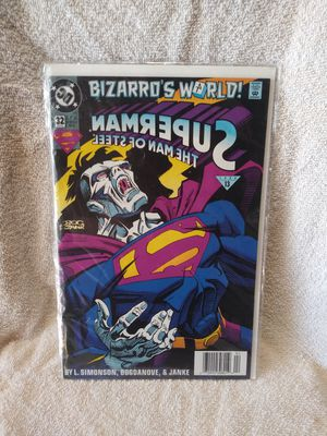 Bizarro's world superman the man of steel 1994 comic book volume 1 #32 for Sale in Riverside, CA