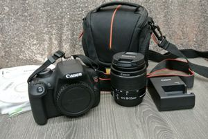 Canon EOS Rebel T5i DSLR Camera 700d 18-55mm Is STM The ultimate in photography for Sale in Lehigh Acres, FL