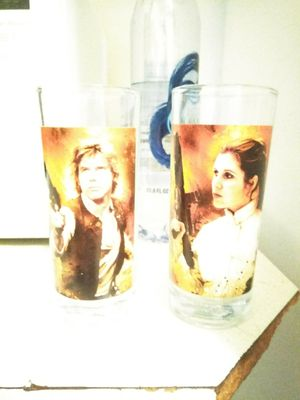 Star wars collectable glasses for Sale in Lynchburg, VA