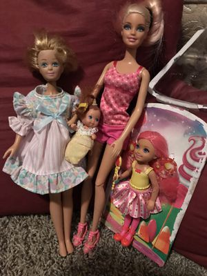 Barbies Family (4) for Sale in San Leandro, CA