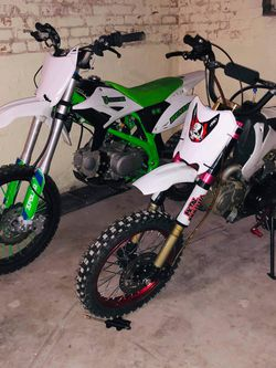 2020 125cc Rfz 20 And 2017 Thumpstar Punge 125cc Pitbike for Sale in Chicago,  IL