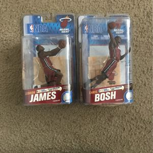Lebron James And Chris Bosh Collectibles for Sale in Deerfield Beach, FL