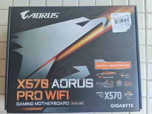 Gigabyte X570 AORUS Pro Wifi for Sale in Carrollton, TX