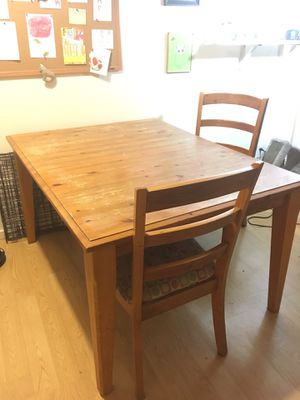 Wooden farmhouse dinning room table for Sale in Seattle, WA