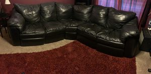 Black Sectional Sofa for Sale in Norton, MA