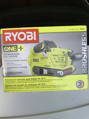 Ryobi belt sander for Sale in Visalia, CA