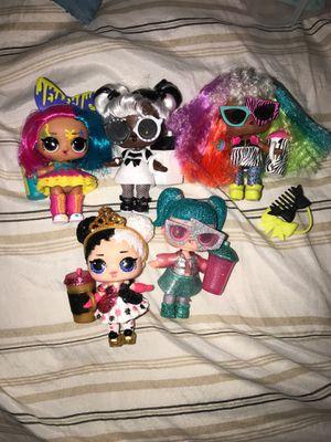 Lol surprise dolls - 5 random dolls for Sale in Silver Spring, MD