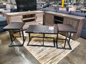 3 PC Occasional Table Set, Black for Sale in Norwalk, CA