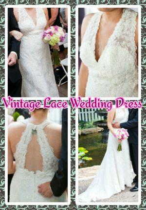 Vintage Lace Casabalanca Bridal Wedding Dress for Sale in Bolingbrook, IL