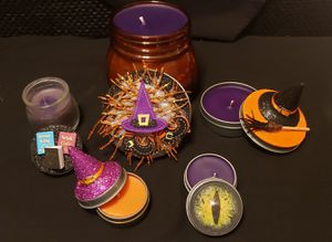 Homemade Halloween Soy Candles for Sale in Wichita, KS