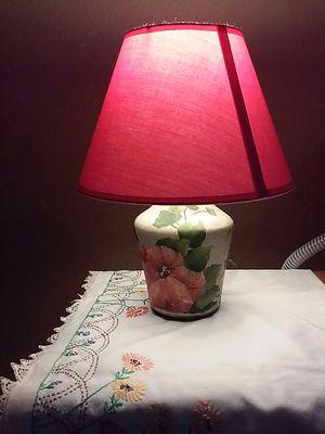 Little beautiful lamp heavy ceramic $20 for Sale in Dallas, TX