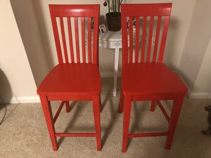 Ashley Furniture Wooden Bar Chairs - NEW for Sale in Rockville, MD