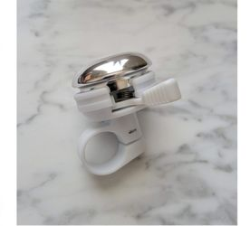 TREK Bike Ringer Bell Bicycle Accessory - White/Polished Silver for Sale in Cape Coral,  FL