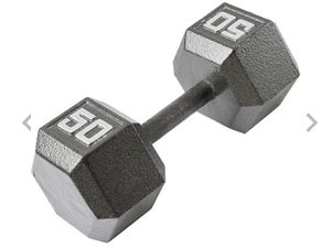 2- 50lbs dumbbell for Sale in Pueblo, CO