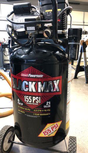 Air Compressor Black max 155 PSI for Sale in Peoria, AZ