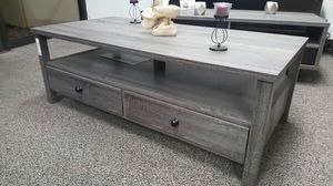 Dutto Coffee Table, Distressed Grey, SKU 151464CT for Sale in Fountain Valley, CA