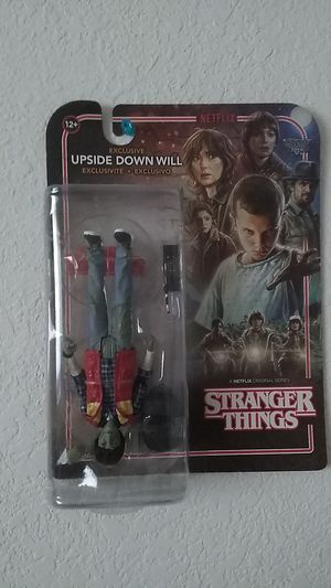 Stranger things (upside down will) action figure for Sale in Antioch, CA