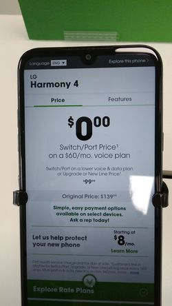 New Android free when you Switch/Port for Sale in San Angelo,  TX
