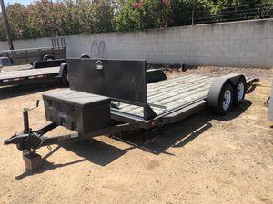 Car Tilt Trailer 18' for Sale in Fresno, CA