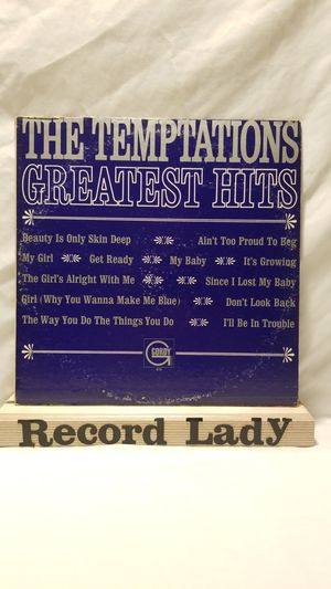 "The Temptations ""Temptations Greatest Hits"" vinyl record funk/soul for Sale in San Diego, CA"