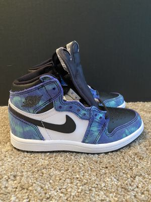 Air Jordan 1 High OG Tie Dye (PS) US Size 12C for Sale in Canton, MI