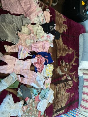 Baby clothes newborn - 0-3 months for Sale in North Las Vegas, NV