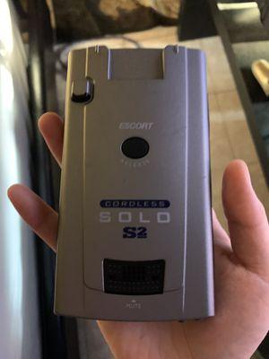 Radar detector scanner laser solo s2 escort for Sale in Boston, MA