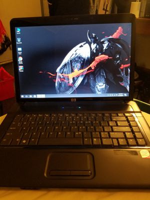 HP laptop with Windows 10 4GB of ram 250 gig hard drive 2.63 gigahertz for Sale in Davenport, IA