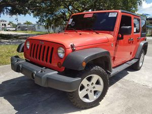 Awesome condition 2014 Jeep Wrangler Unlimited 4WD 4dr Sport SUV Drives like new clean title good miles for Sale in Miramar, FL