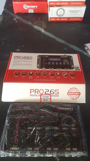 TARAMPS PRO 2.6S digital audio procesor for Sale in San Jose, CA