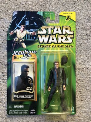 Star Wars Power Of The Jedi Obi Wan Kenobi Action Figure | Collection 2 for Sale in Los Angeles, CA
