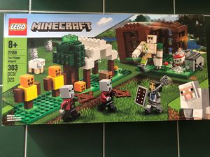 $25 LEGO Minecraft The Pillager Outpost 21159 Awesome Action Figure Building Set for Sale in Las Vegas, NV