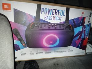 JBL PARTY BOX ON THE GO BLUETOOTH SPEAKER for Sale in Stockton, CA