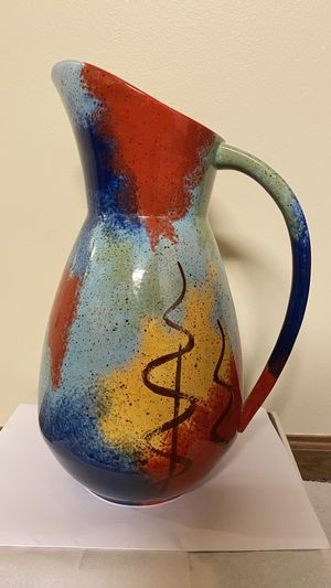Pitcher/ hand painted for Sale in Lincoln, NE