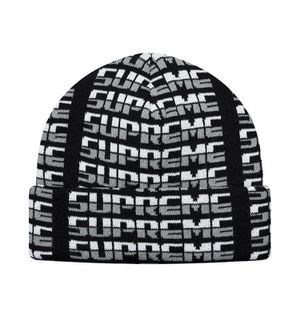 Supreme Repeat Beanie Black for Sale in Ooltewah, TN