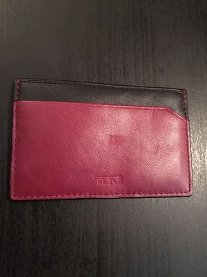 TUMI slim wallet/card holder for Sale in Austin, TX