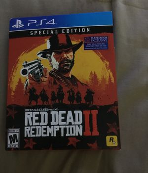 Red dead redemption II special edition PS4 for Sale in Reston, VA