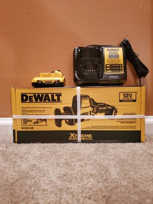 XTREME 12V MAX Brushless One-Handed Cordless Reciprocating Saw BATTERY and Charger Included for Sale in Frederick, MD