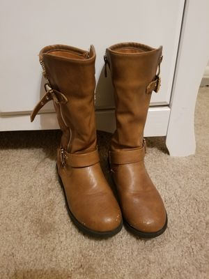 Kids girl's brown boots for Sale in Brandon, FL