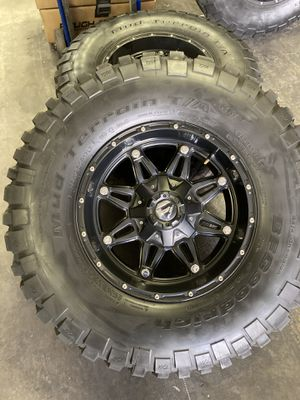 "17"" FUEL OFF ROAD WHEELS for Sale in Las Vegas, NV"